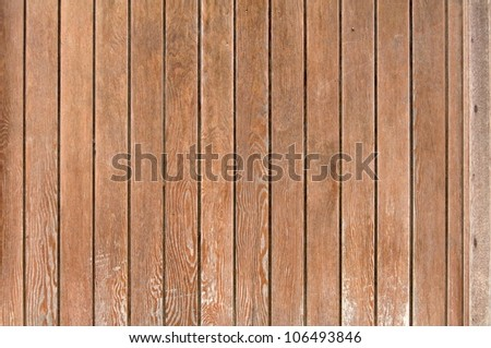 Wooden boards - stock photo