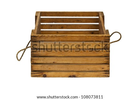 Wooden box for your product