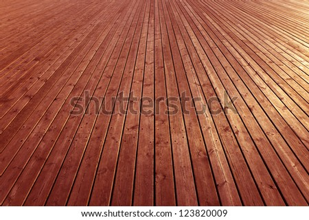 Wooden brown planks - High quality texture.
