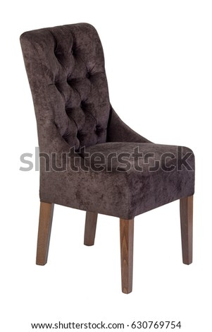 Wooden chair, isolated on white background #630769754