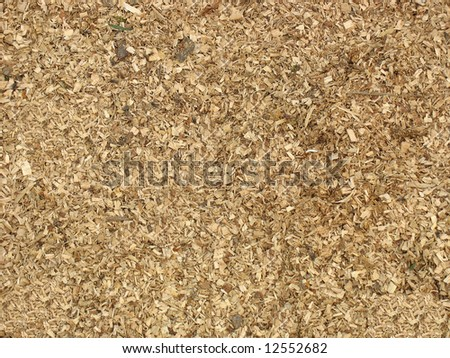 wooden chips for landscaping great texture background - stock photo