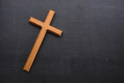 Wooden Christian cross wallpaper, Christianity Concept, Wooden Christian cross background