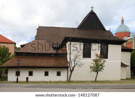wooden church, Kezmarok, Slovakia