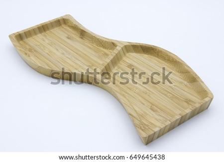Wooden Cookies Bowl Stok fotoğraf ©