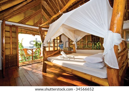 Wooden Cottage with Perfect Tropical Seaview