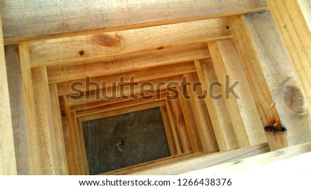 Wooden crate Close up #1266438376