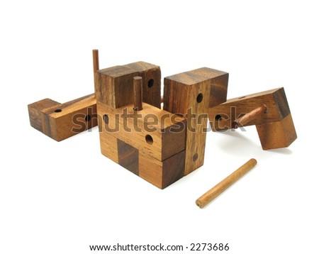 3d Wooden Cube Puzzles Wooden Cube Puzzle