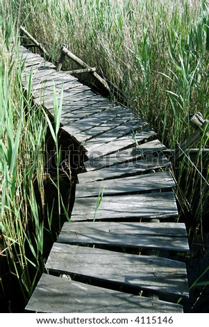 Wooden Deck 2. - stock photo