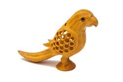 Wooden Decorative Bird Sculpture