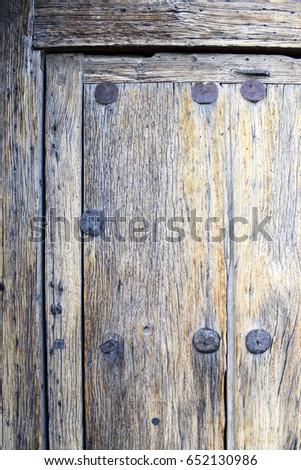 wooden door details  mission...