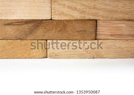 wooden figures-architectural figures #1353950087