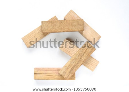 wooden figures-architectural figures #1353950090