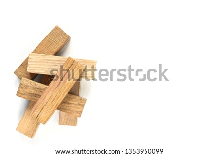 wooden figures-architectural figures #1353950099
