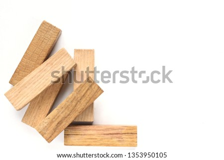 wooden figures-architectural figures #1353950105