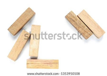 wooden figures-architectural figures #1353950108