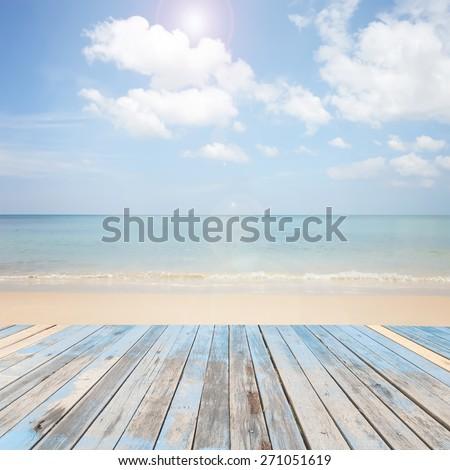 wooden floor with beautiful...