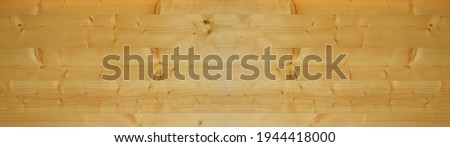 Wooden floorboards pine wall floor table texture structure - Bright wood timber background banner panorama ( top view )  Stock photo ©