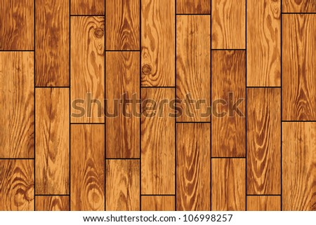 Wooden flooring - a realistic background