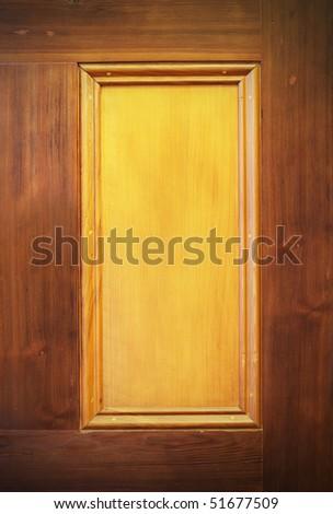 wooden frame background