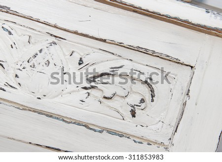 wooden furniture Shabby chic style #311853983