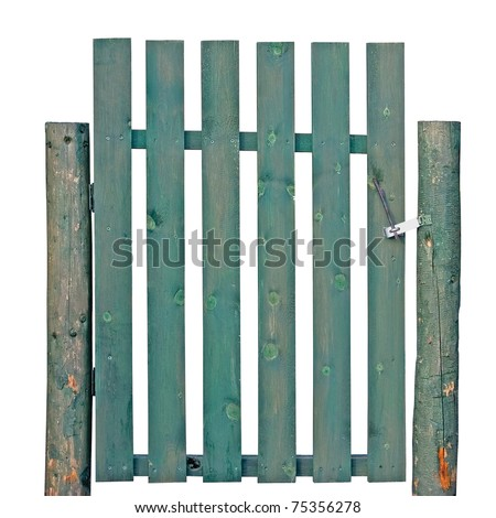 Wood Fence Styles - Spaced Dog Ear Picket Style Fence - HOOVER