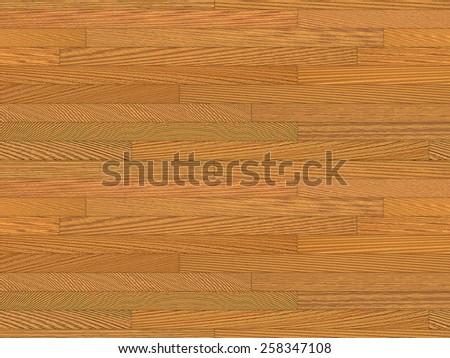 Wooden Gymnasium Floor Texture - Landscape Format