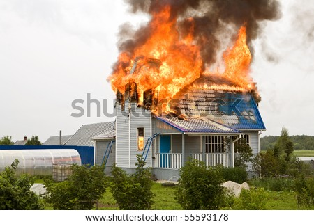 Essay a house on fire