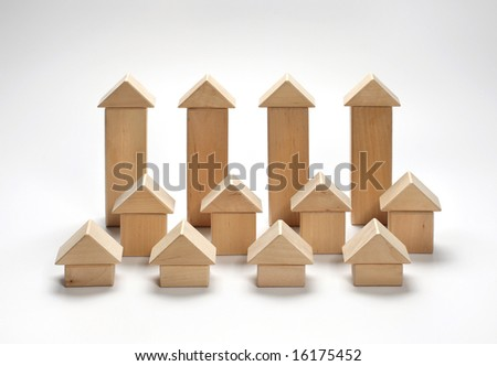 wooden houses #16175452