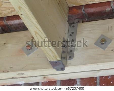 Wooden joist hangers #657237400