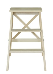 wooden ladder isolated