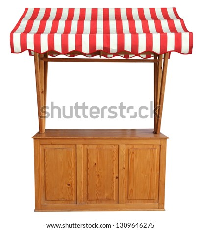 Market Stall Rustic Party Country Stock Photo