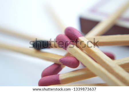 wooden matches fire  sulfur  #1339873637