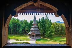 Wooden Monastery of Sapanta (Romania, Europe)