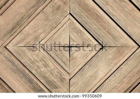 Wooden painted wall background
