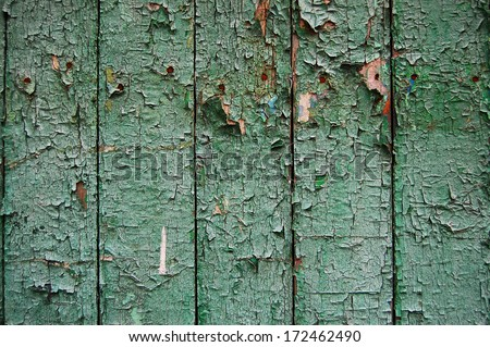 Wooden Palisade Background. Close Up Of Wooden Fence Panels.Old Wooden Fence.  Wood