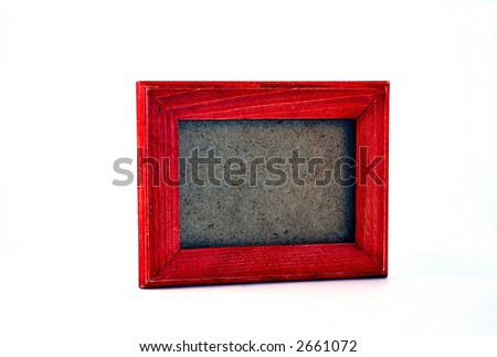 Wooden Picture Frame - Empty