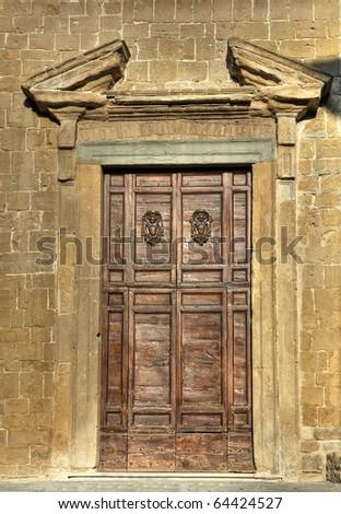 Wooden portal. Foto d'archivio ©