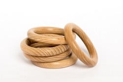 wooden ring, teething, children's eco toy