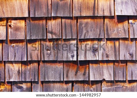 Wooden Roof #144982957