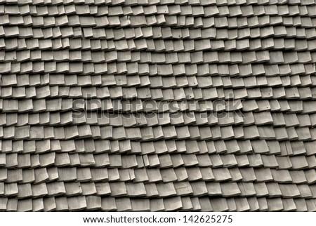 wooden roof tiles texture