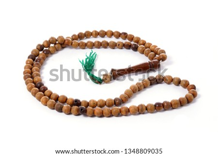 Wooden rosary beads #1348809035