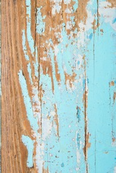 wooden shabby background with scratches and bleed-through paint