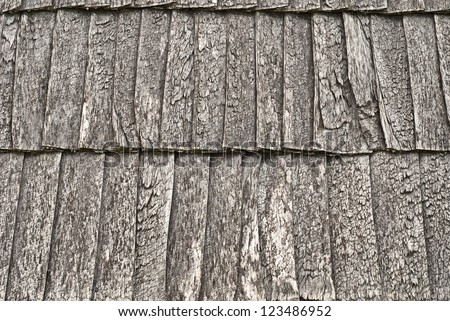 wooden shingle roof background
