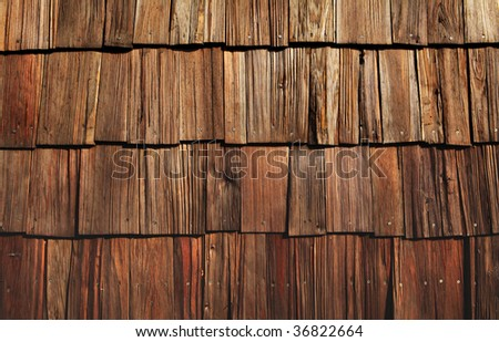 wooden shingles great for background or grungy wallpaper