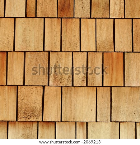 wooden shingles great for background or industry illustration