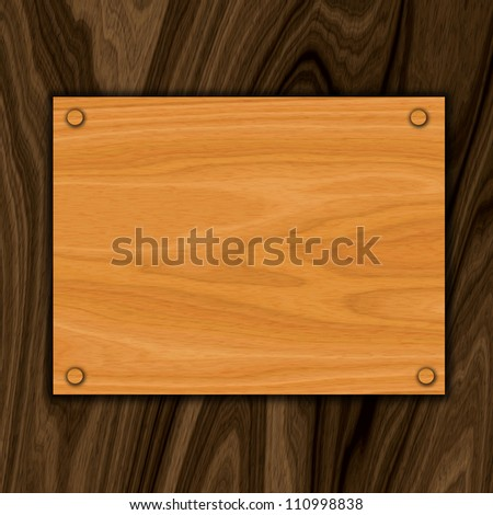 wooden sign background