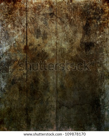 Wooden slat background with aged, distressed look