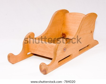 Wooden Sleigh Pictures to pin on Pinterest