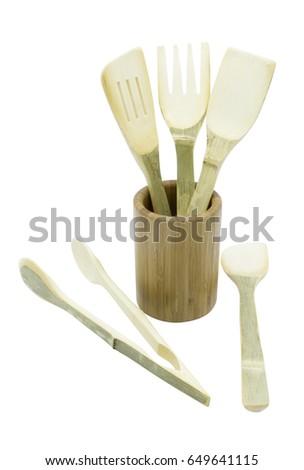 Wooden Spoon Stok fotoğraf ©
