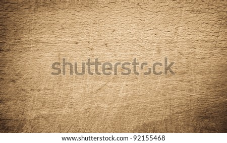 Wooden surface with darker frame